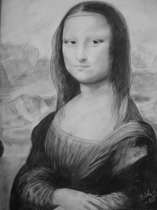 Mona Lisa by manal